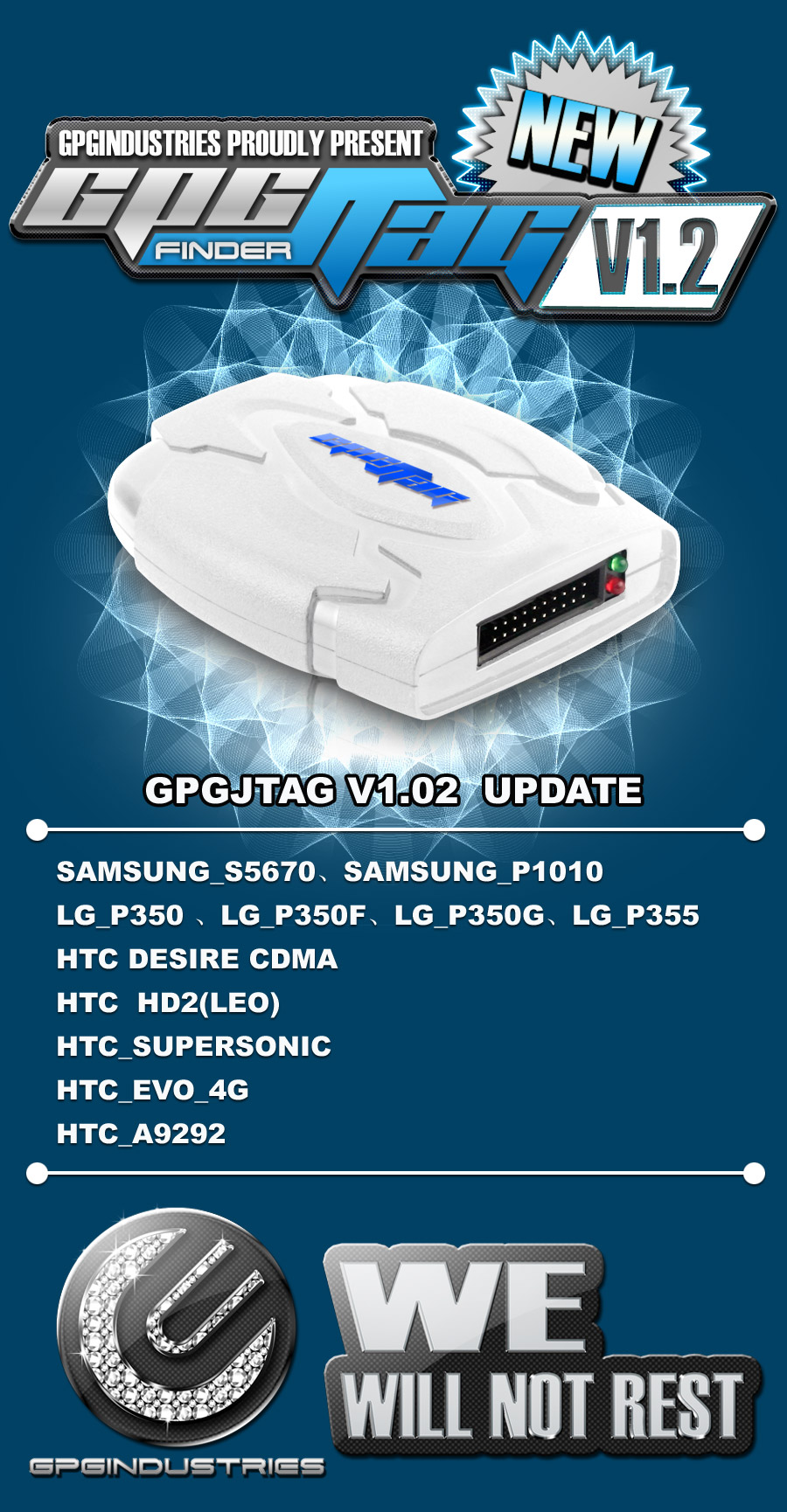 2011 11 21 GPGIndustries Proudly Present GPGJtag V102