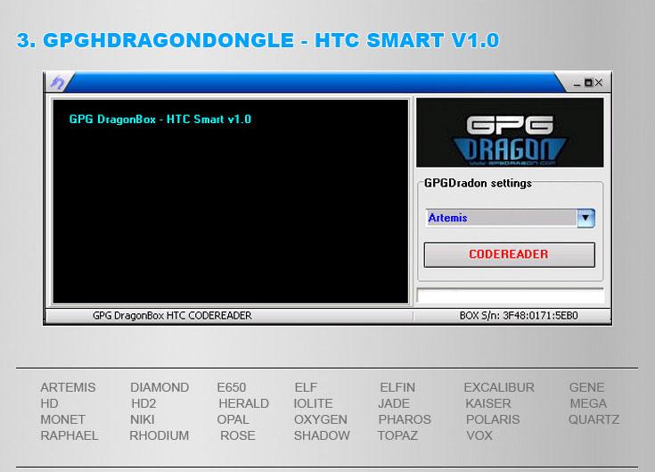 GPGDRAGON DONGLE 05